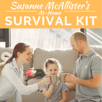 Susanne McAllister's Survival Kit for Staying at Home